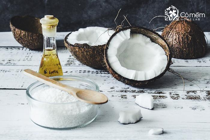 Bột gạo và dầu dừa ngăn tiết mồ hôi